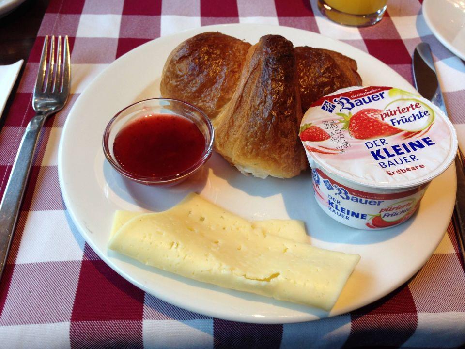 Kleines Frühstück Büffet.OK! Adolph's Gasthaus