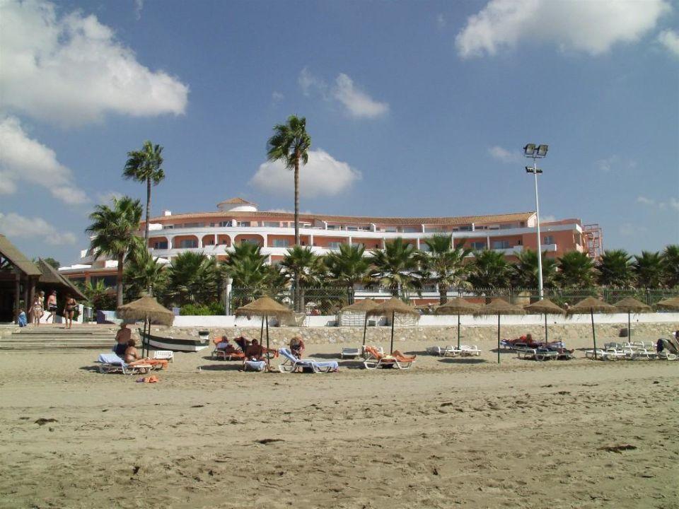 Hotel Marbella Playa Strand Vor Dem Hotel Blick Auf Das Ho Hotel