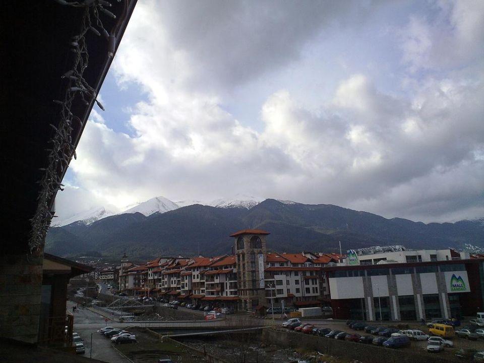 Widok z pokoju Hotel Vihren Palace Ski & Spa Resort