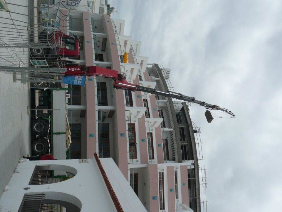 Baustelle Hotel Apartments Delfin Playa