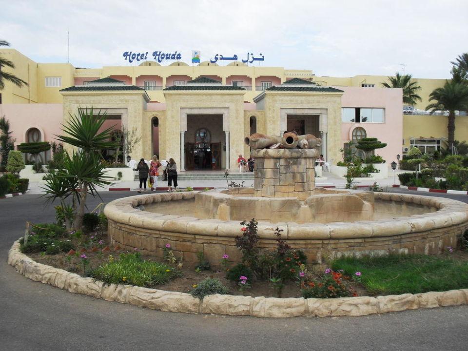 Entrée de l'hôtel Hotel Houda Golf & Beach Club