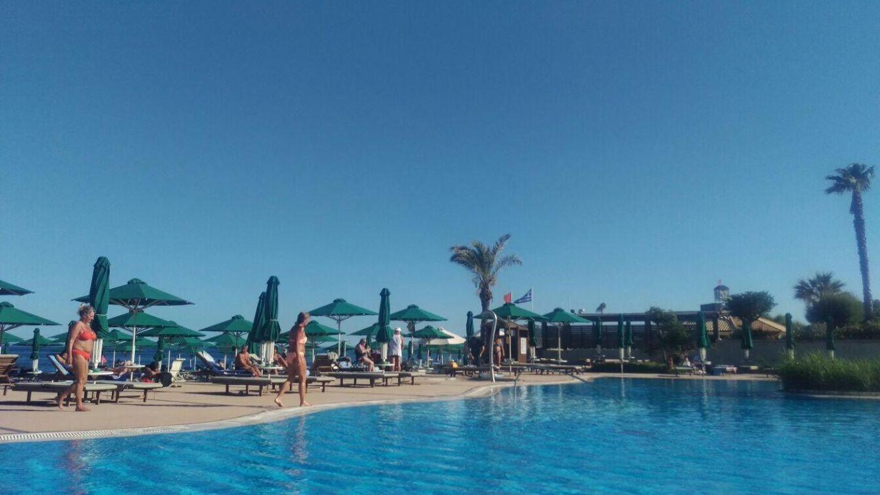 """Pool Mit Blick Aufs Meer"" Esperos Mare (Faliraki"