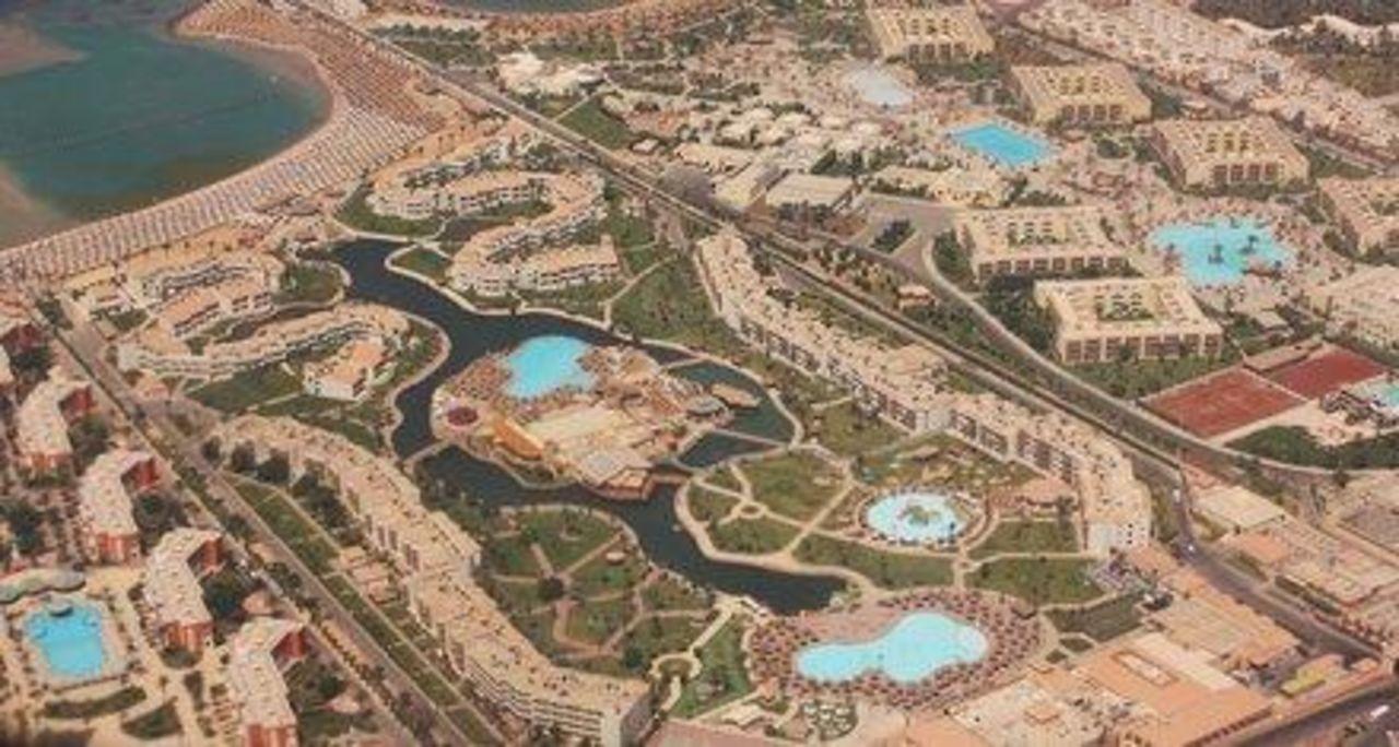 Bild quot luftaufnahme quot zu dana beach resort in hurghada
