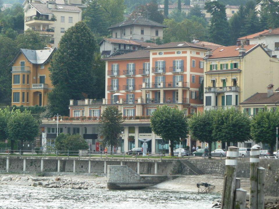 Ansicht vom Boot aus Hotel La Luna Nel Porto