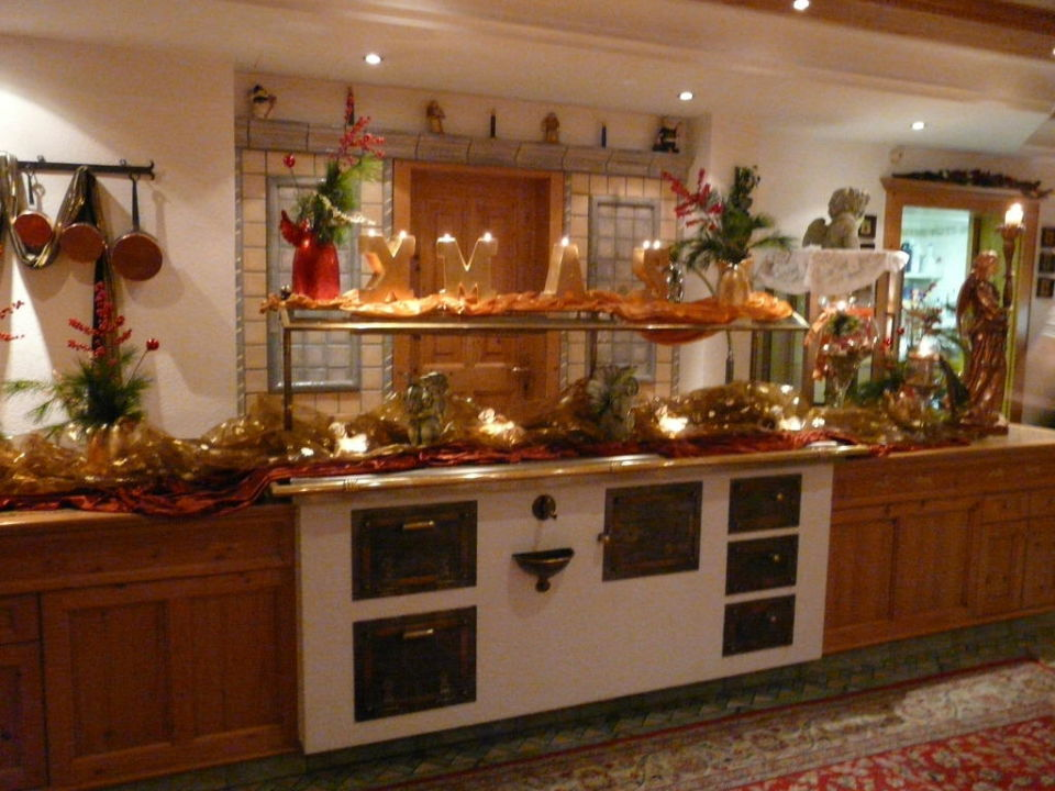 Bild Buffet Dekoration Zu Alpine Wellnesshotel