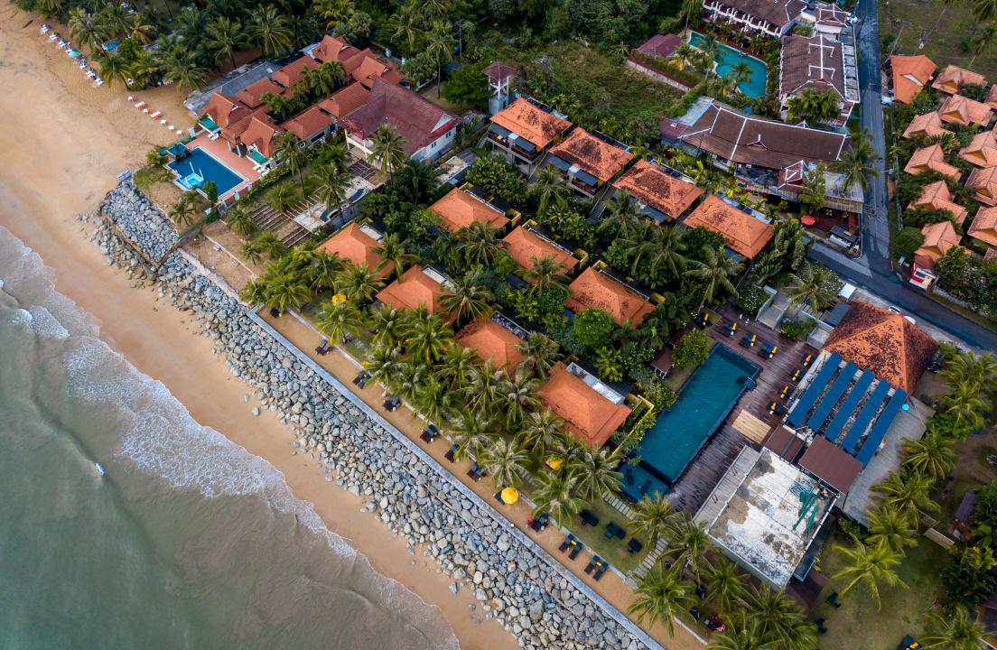 Quot Au 223 Enansicht Quot Hotel Chong Fah Beach Resort Bang Niang