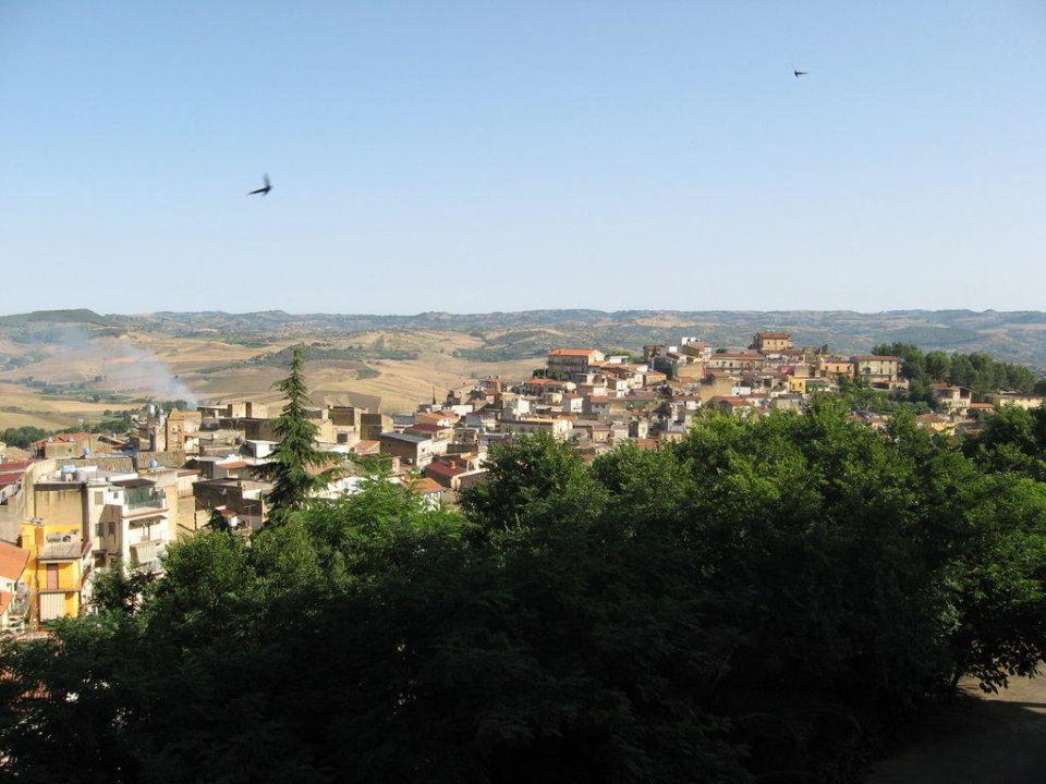 Ausblick vom Balkon Hotel Pomara