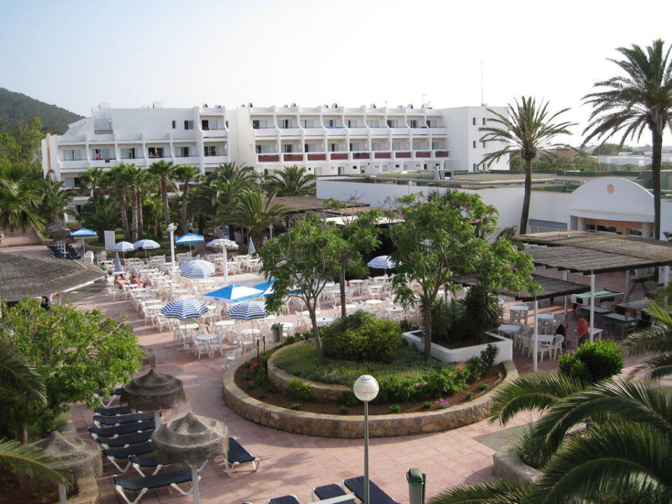 Ausblick vom Balkon Grand Palladium White Island Resort & Spa
