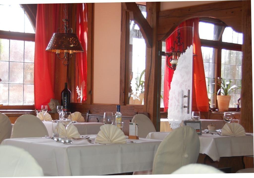 Ausschnitt Restaurant Landidyll Wilminks Parkhotel