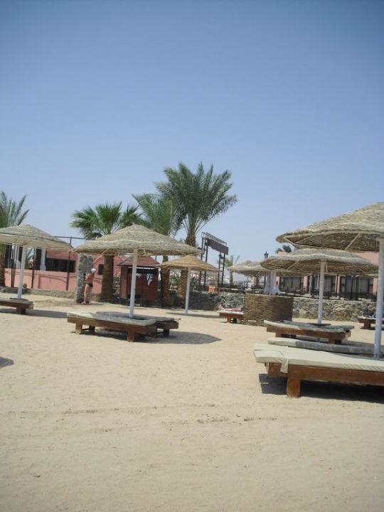 Liegen mit Sonnenschirm und - schutz Sol Y Mar Hotel Paradise Beach