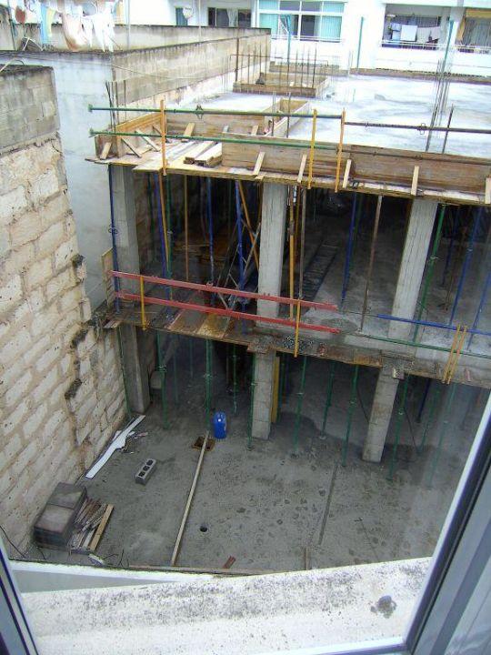 Ausblick aus Zimmer 308 Hotel Voramar
