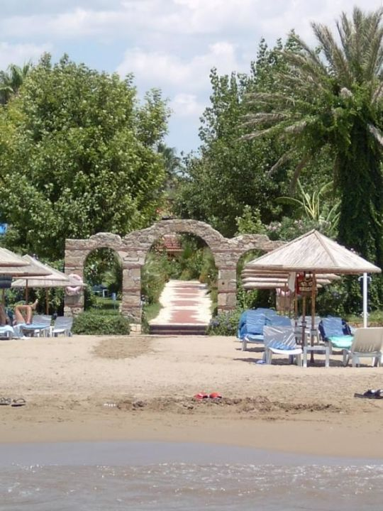 Defne Garden, Strandportal Hotel Defne Garden