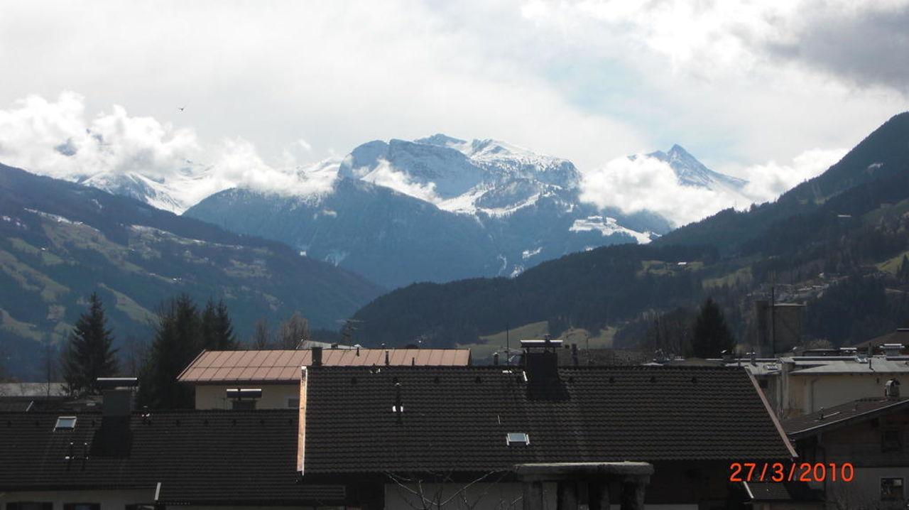 Sicht nach Kaltenbach Hotel Jäger