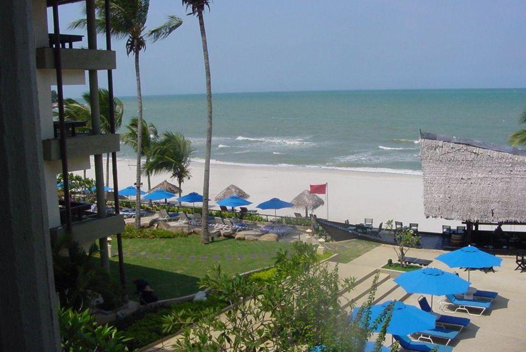 Blick vom Balkon Hotel Hyatt Regency Kuantan