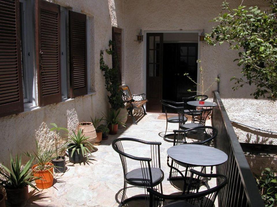 Der Eingangsbereich des Hotels Galini Mare Galini Mare Hotel