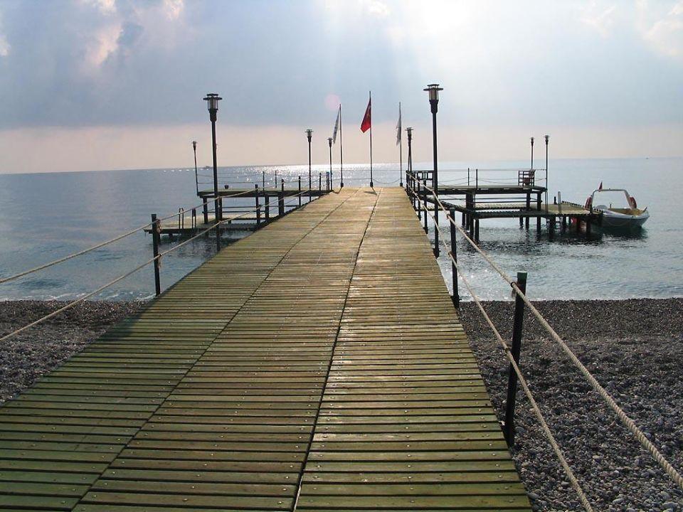 Bootssteg Kiriş World Hotel by Voyage  (geschlossen)