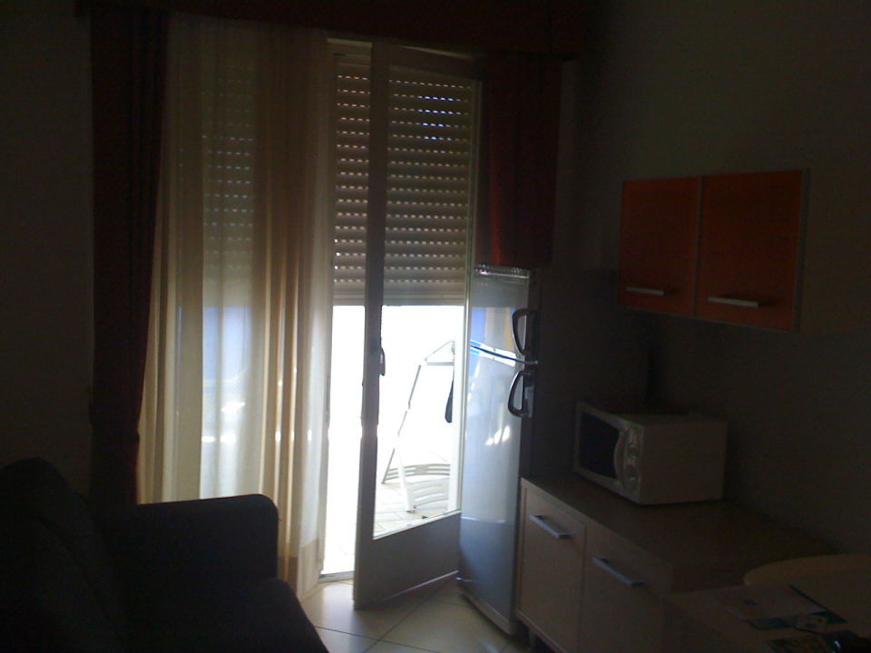 Küche Aparthotel Ashanti