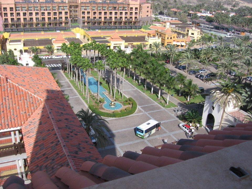 Ausblick von einem der 2 Türme Lopesan Costa Meloneras Resort, Spa & Casino