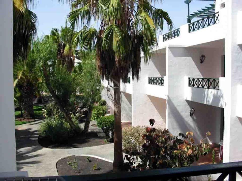 Gatenanlage der Hotelanlage Barcarola Apartamentos Barcarola Club