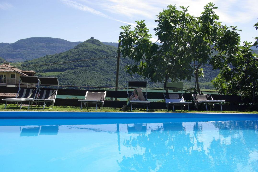 """Ausblick beim Pool"" Haus am Hang Kaltern • HolidayCheck"