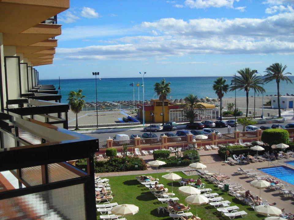 Vom Balkon Hotel Riu Belplaya  (Vorgänger-Hotel – existiert nicht mehr)