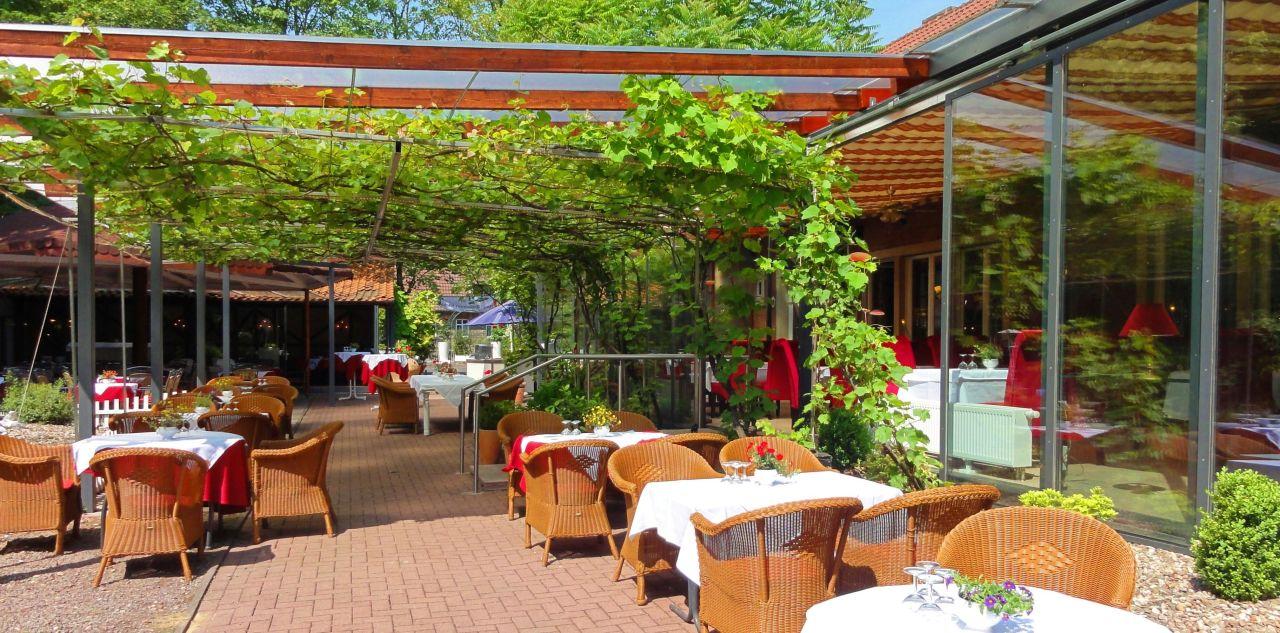 Wintergarten Münster weinreben wintergarten im sommer hotel wienburg münster