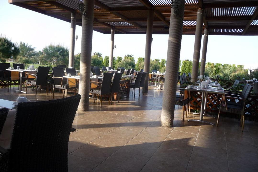 Hauptrestaurant Terrasse Voyage Belek Golf & Spa