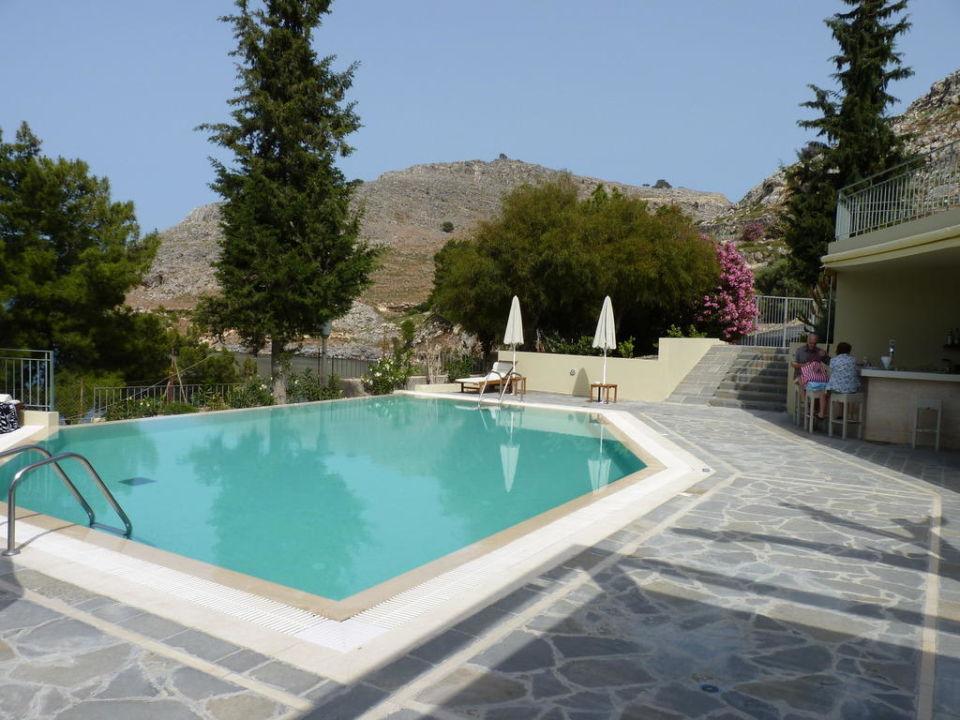 Bild kleiner pool zu lindos mare hotel in lindos for Kleiner pool