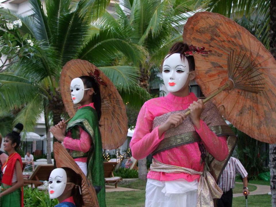 Silvestershow 2009 im Naithonburi Hotel Naithonburi Beach Resort