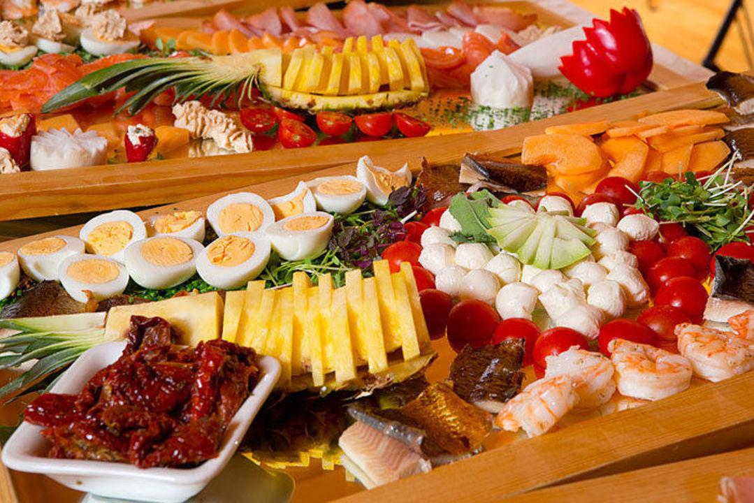 Vorspeisenbuffet die Sonnigen Hotel und Restaurant