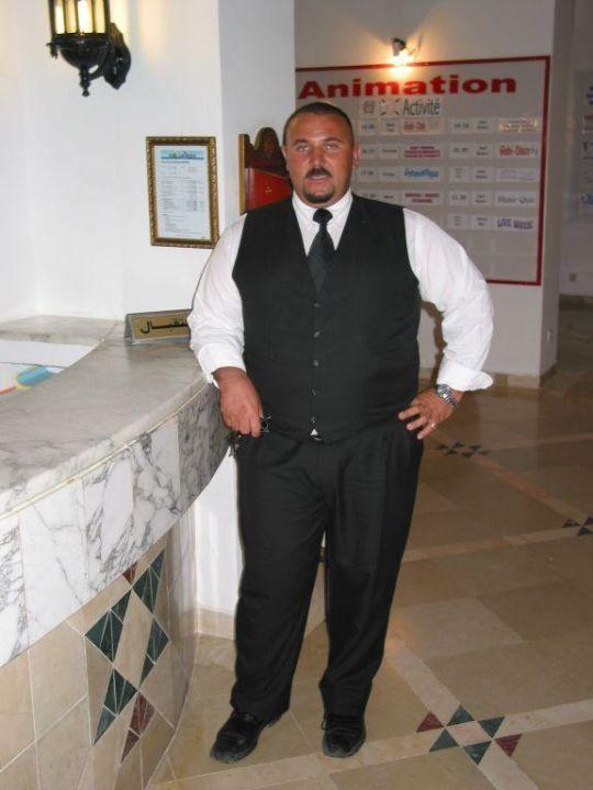 Security Männer, wer hat den da noch Angst Hotel Meninx Djerba