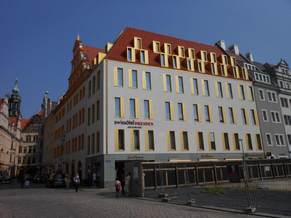 Swissôtel Dresden Aussenansicht Hyperion Hotel Dresden Am Schloss