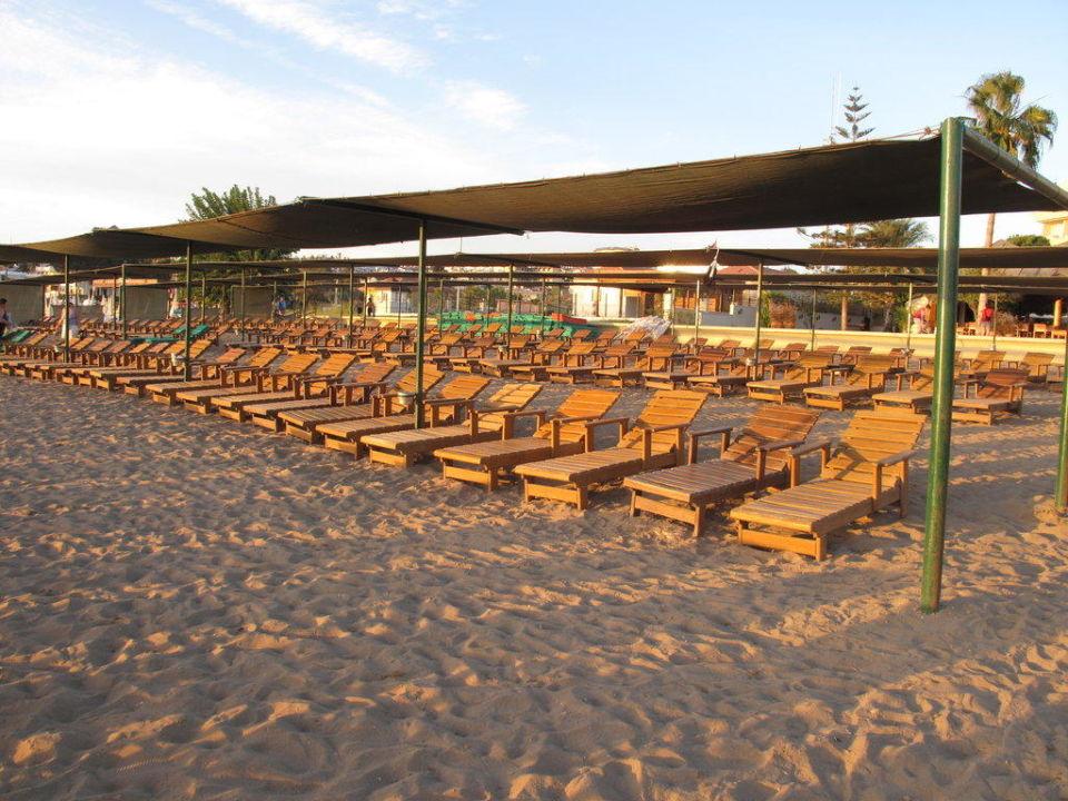Strand am Abend Hotel Nerton
