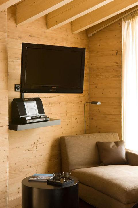 Sitzmöbel In Einem Unserer Zimmer Unique Hotel Post Zermatt