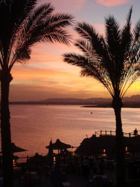 Sonnenuntergang Sharm Resort