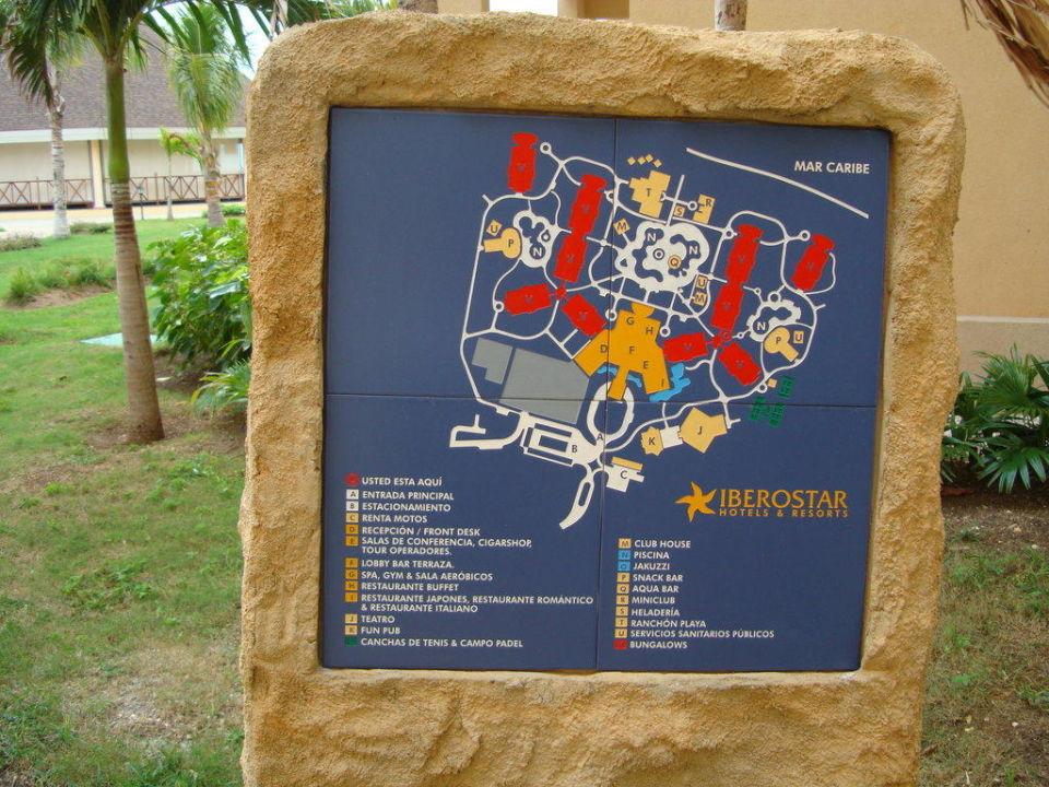 Lageplan Iberostar Laguna Azul