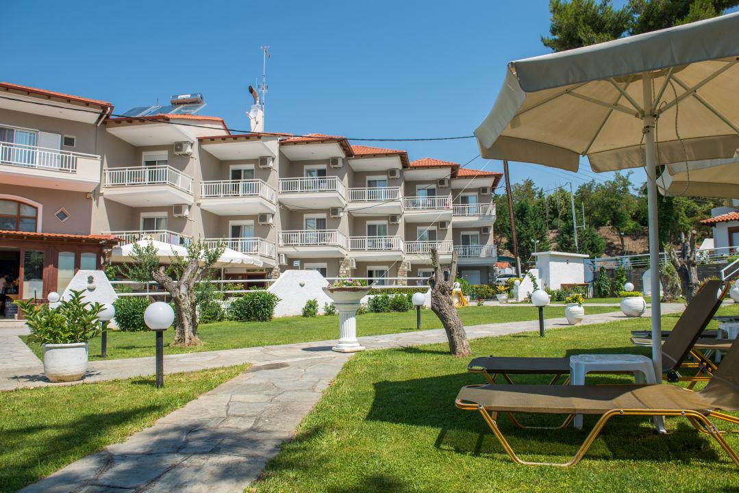Außenansicht Georgalas Sun Beach Hotel