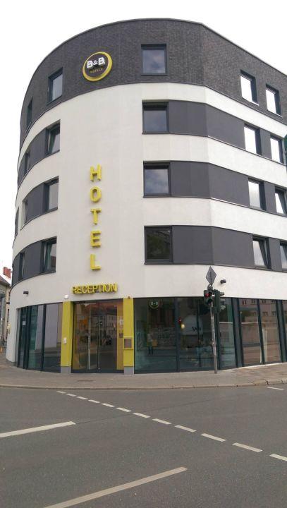 Hotelansicht B&B Hotel Erfurt
