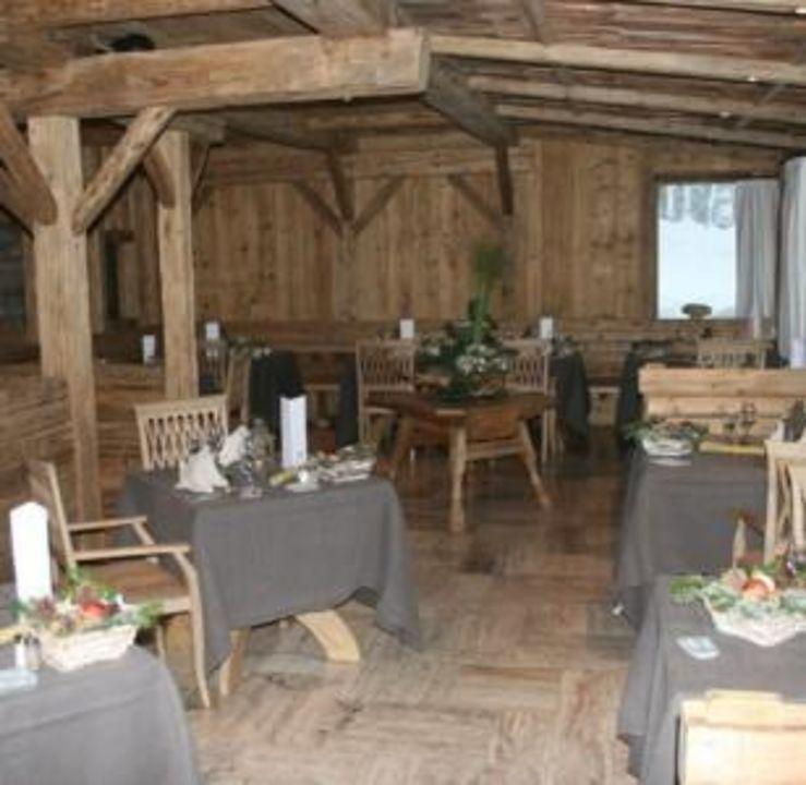 restaurant nach renovierung in 2010 hotel lanig resort. Black Bedroom Furniture Sets. Home Design Ideas