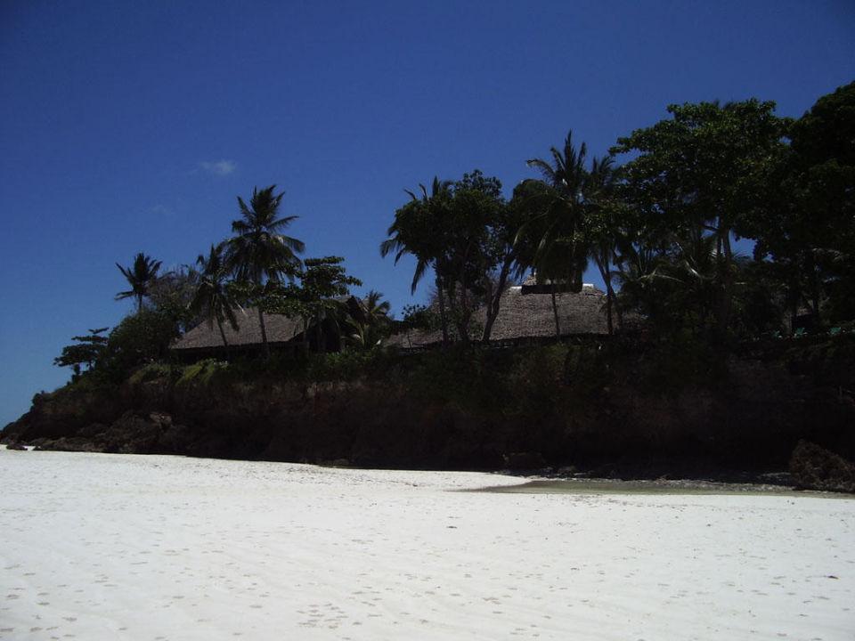 Blick vom Strand auf das Hotel Baobab Beach Resort Baobab Beach Resort & Spa