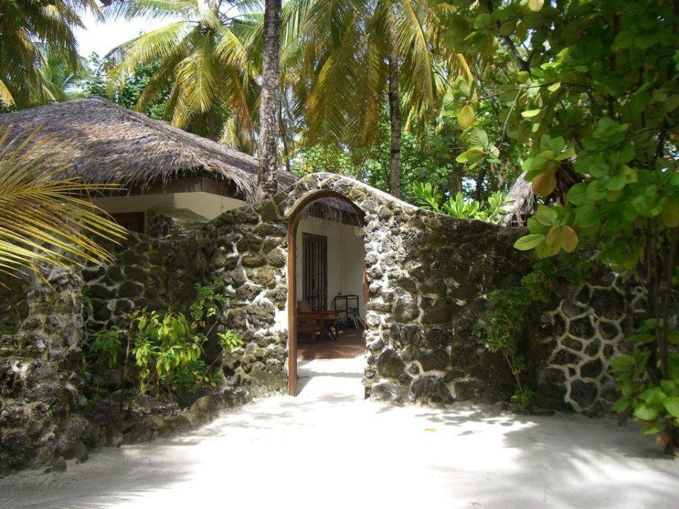 Eingang zum Vip Bungi VOI Maayafushi Resort