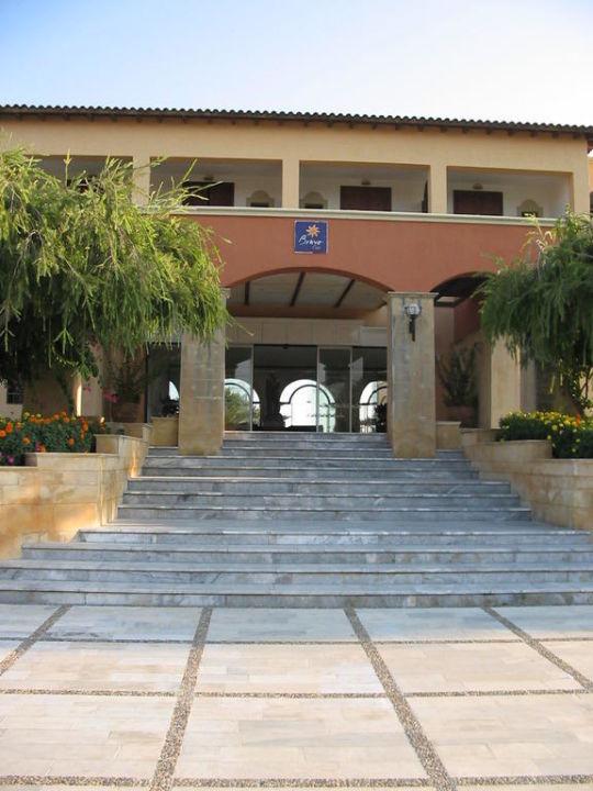 L'ingresso al villaggio TUI BLUE Atlantica Creta Paradise