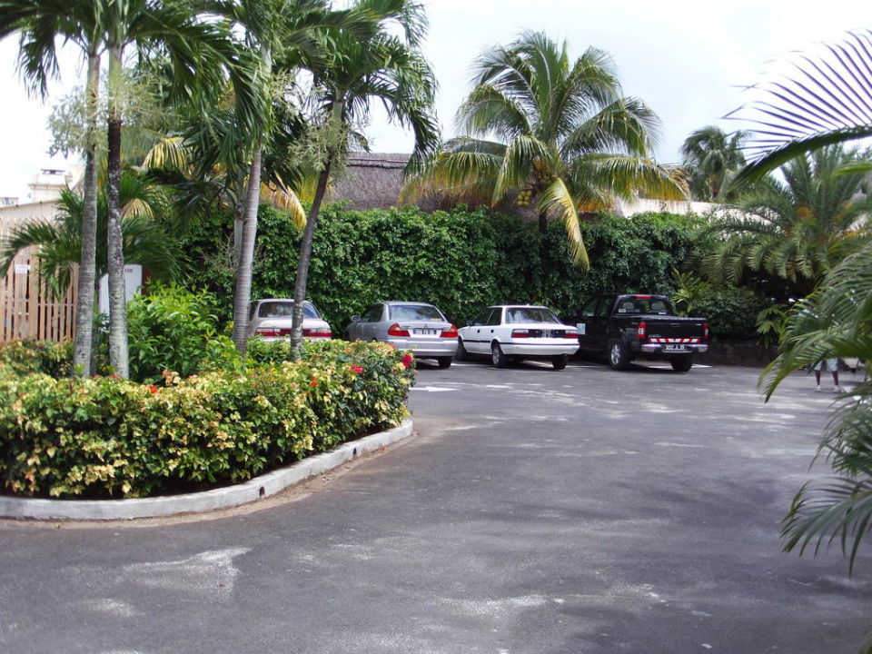 Hotelparkplatz Veranda Palmar Beach Hotel