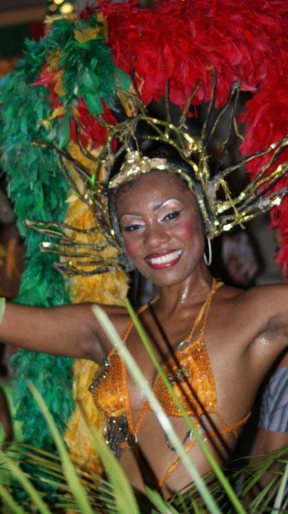 Einheimische Tänzerin Hotel Silver Beach