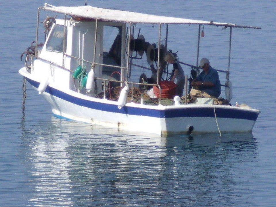 Stamatis Boot Haus des Fischers