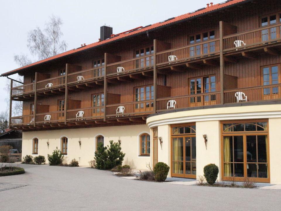 Vom Parkplatz aus Hotel & Landgasthof Altwirt