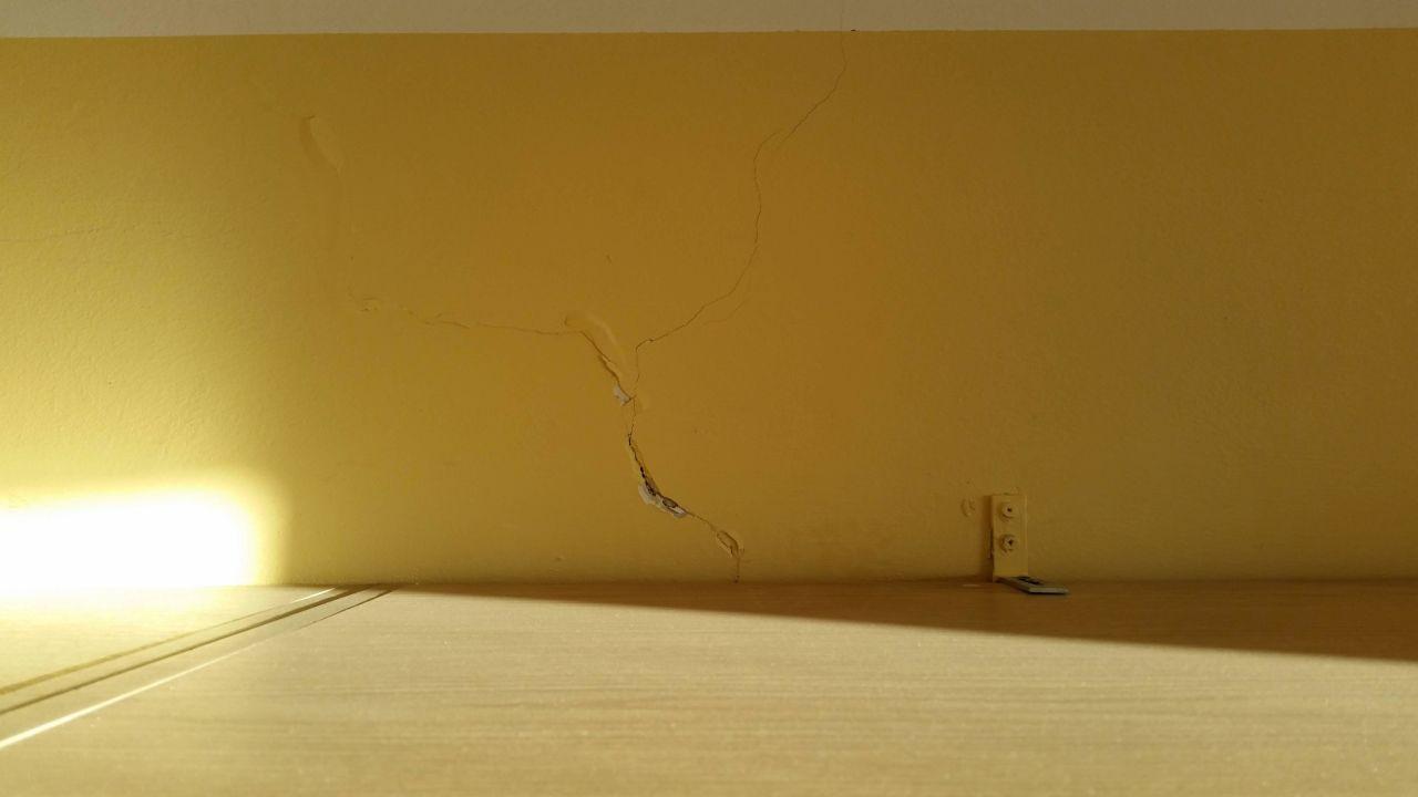 risse in der wand hotel ferienpark geyersberg freyung. Black Bedroom Furniture Sets. Home Design Ideas