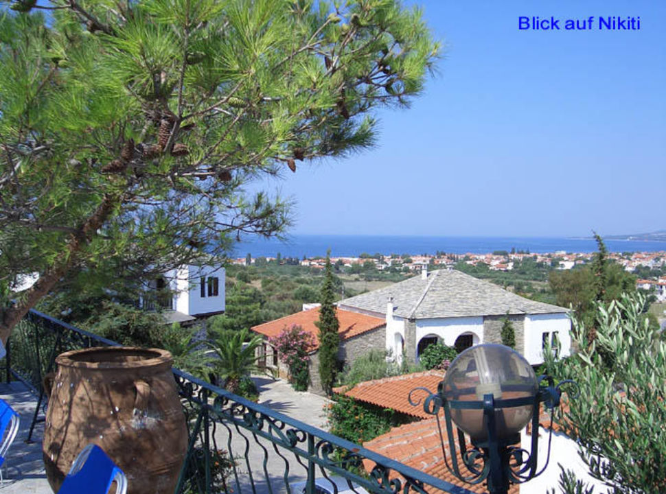 Geranion Village- Blick auf Nikiti Hotel Geranion Village