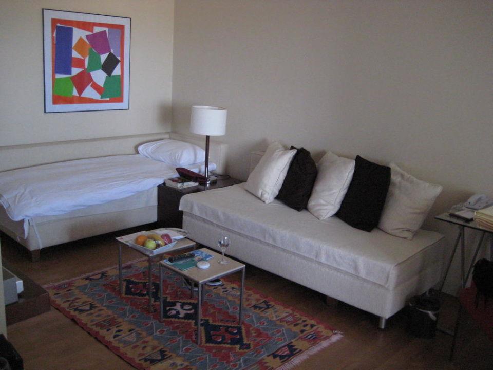 Wohnzimmer der Familien Suite Lara Barut Collection