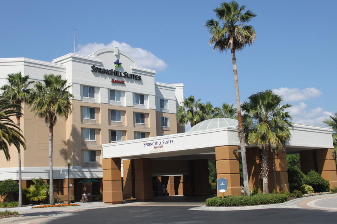 Haupteingang Hotel Fairfield Inn & Suites Orlando Lake Buena Vista in the Marriott Village
